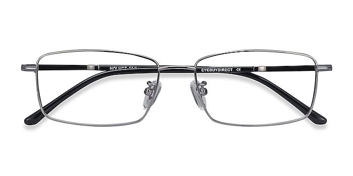 Gunmetal Holmst -  Lightweight Titanium Eyeglasses