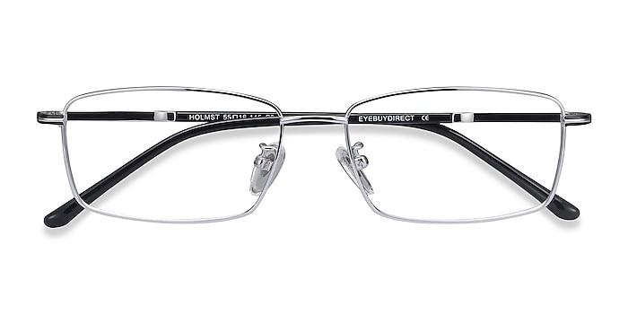 Silver Holmst -  Lightweight Titanium Eyeglasses