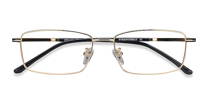 Golden Holmst -  Lightweight Titanium Eyeglasses