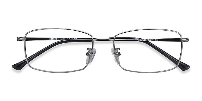 Gunmetal Hobbes -  Lightweight Titanium Eyeglasses