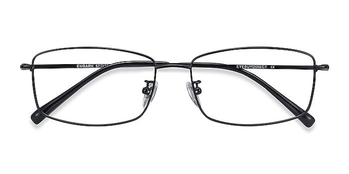 Black Embark -  Lightweight Titanium Eyeglasses