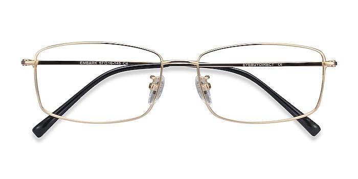 Golden Embark -  Lightweight Titanium Eyeglasses