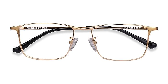 Gold Fielder -  Lightweight Titanium Eyeglasses