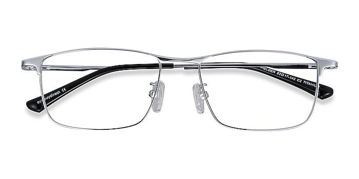 Silver Fielder -  Lightweight Titanium Eyeglasses