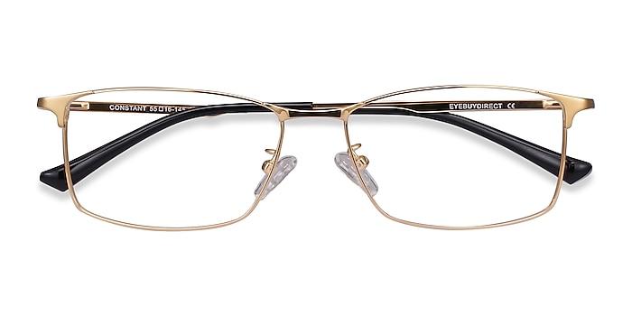 Gold Constant -  Lightweight Titanium Eyeglasses