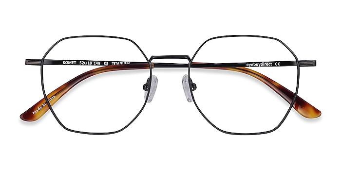 Black Comet -  Lightweight Titanium Eyeglasses