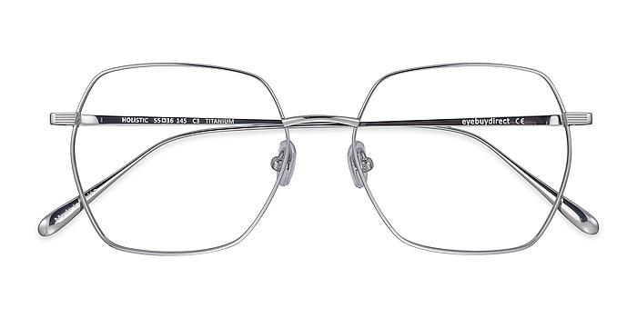 Silver Holistic -  Lightweight Titanium Eyeglasses