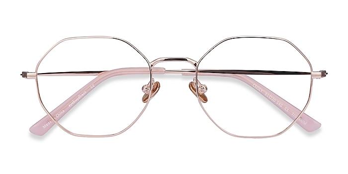 Rose Gold Cecily -  Lightweight Titanium Eyeglasses