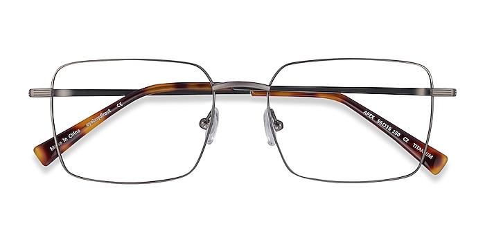 Gunmetal Apex -  Lightweight Titanium Eyeglasses