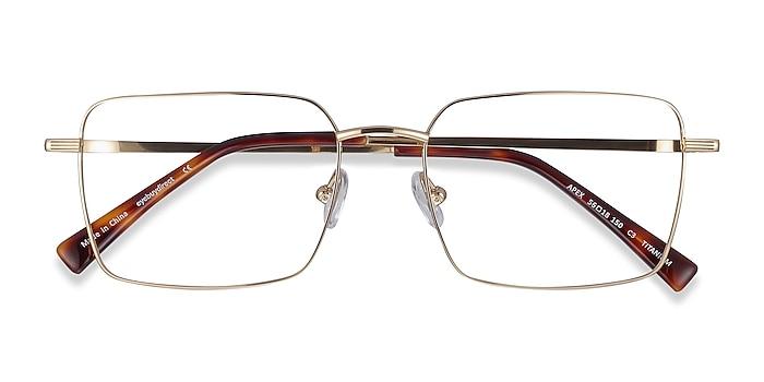 Gold Apex -  Lightweight Titanium Eyeglasses