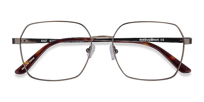 Bronze East -  Lightweight Titanium Eyeglasses
