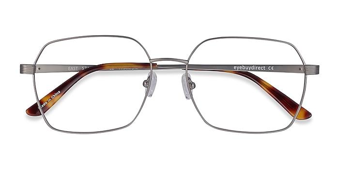 Gunmetal East -  Lightweight Titanium Eyeglasses