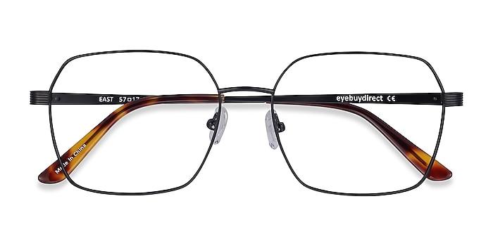 Black East -  Lightweight Titanium Eyeglasses
