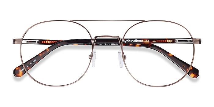 Bronze Gordon -  Vintage Acetate Eyeglasses