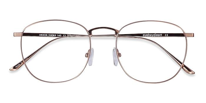 Rose Gold Arbor -  Fashion Titanium Eyeglasses