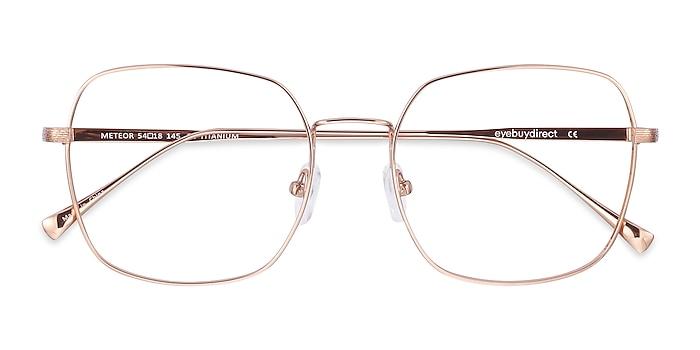 Rose Gold Meteor -  Fashion Titanium Eyeglasses