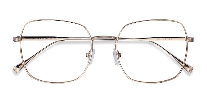 Gold Meteor -  Fashion Titanium Eyeglasses