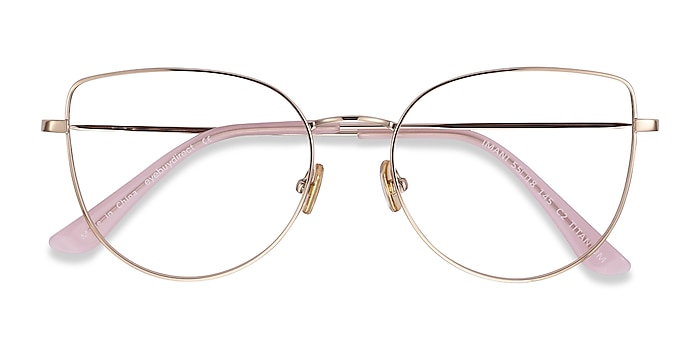 Gold Imani -  Fashion Titanium Eyeglasses