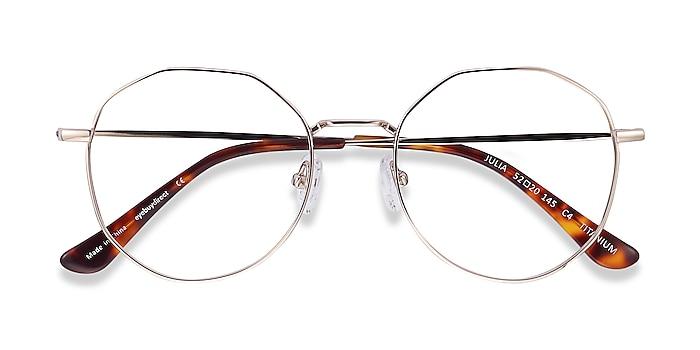 Gold Julia -  Vintage Titanium Eyeglasses