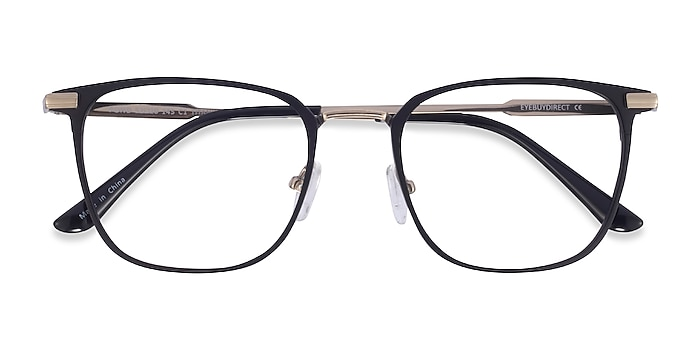 Matte Balck Pond -  Titanium Eyeglasses