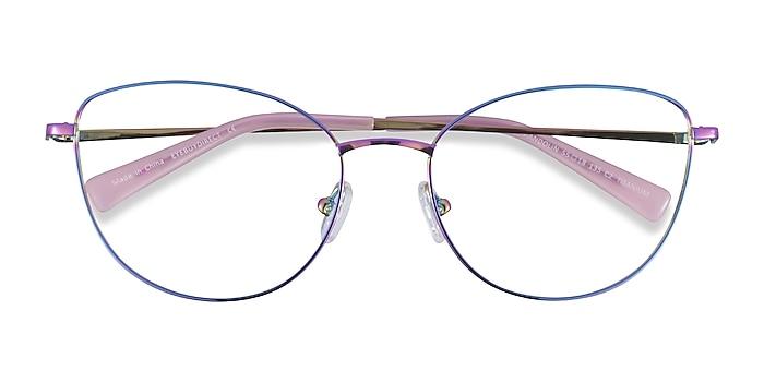 Rainbow Mandolin -  Titanium Eyeglasses