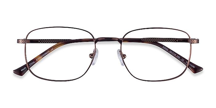 Coffee Gong -  Titanium Eyeglasses