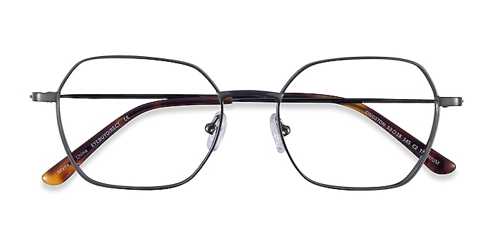 Gunmetal Kingston -  Titanium Eyeglasses
