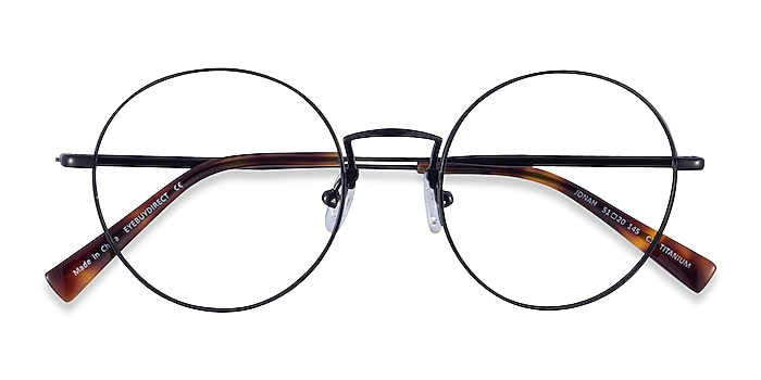 Black Jonah -  Titanium Eyeglasses