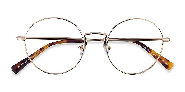 Gold Jonah -  Titanium Eyeglasses