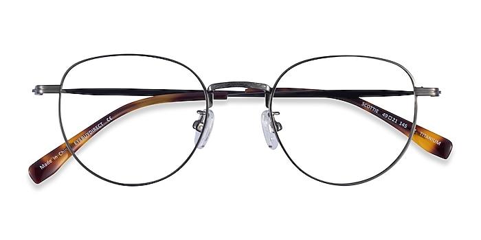 Gunmetal Scottie -  Titanium Eyeglasses