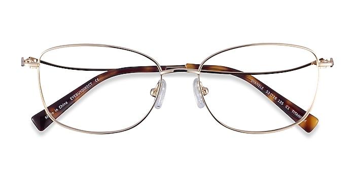 Gold Dianele -  Titanium Eyeglasses