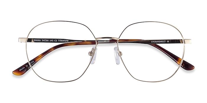 Gold Diana -  Titanium Eyeglasses