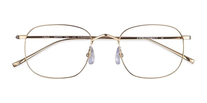Gold Linus -  Titanium Eyeglasses
