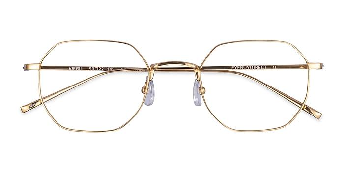 Gold Virgil -  Titanium Eyeglasses