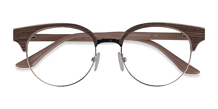 Gold Beige Wilderness -  Classic Acetate Eyeglasses
