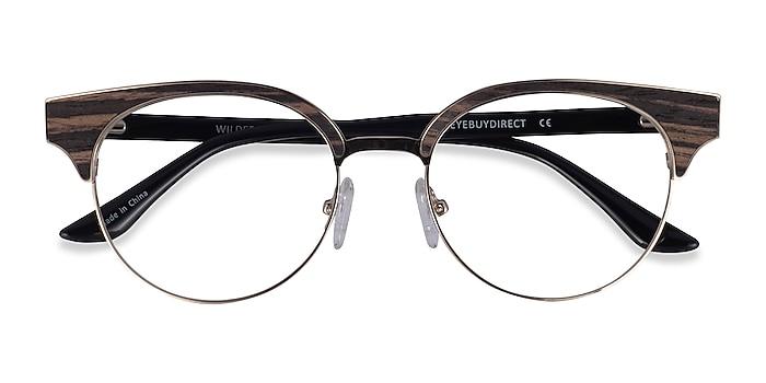 Gold Black Wilderness -  Classic Metal Eyeglasses