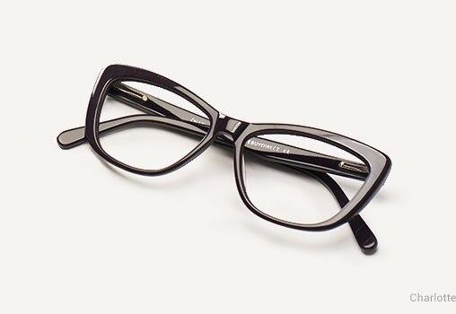 Horn Eyeglasses Unisex