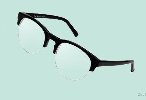Semi Rimless Eyeglasses Unisex