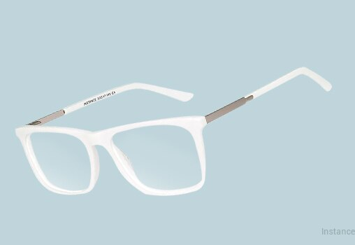 White Eyeglasses Unisex