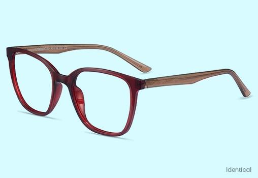 Red Eyeglasses Unisex