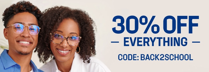 30% Off Everything Code: BACK2SCHOOL