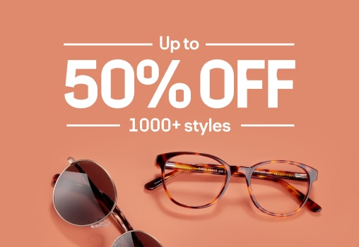 up to 50% Off 1000+ styles